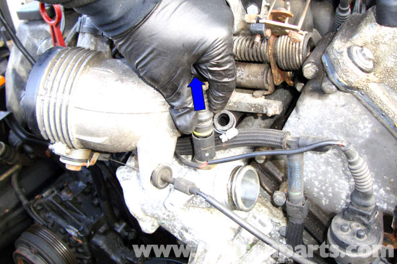 Bmw E39 5 Series Cooling Pump Removal 1997 2003 525i