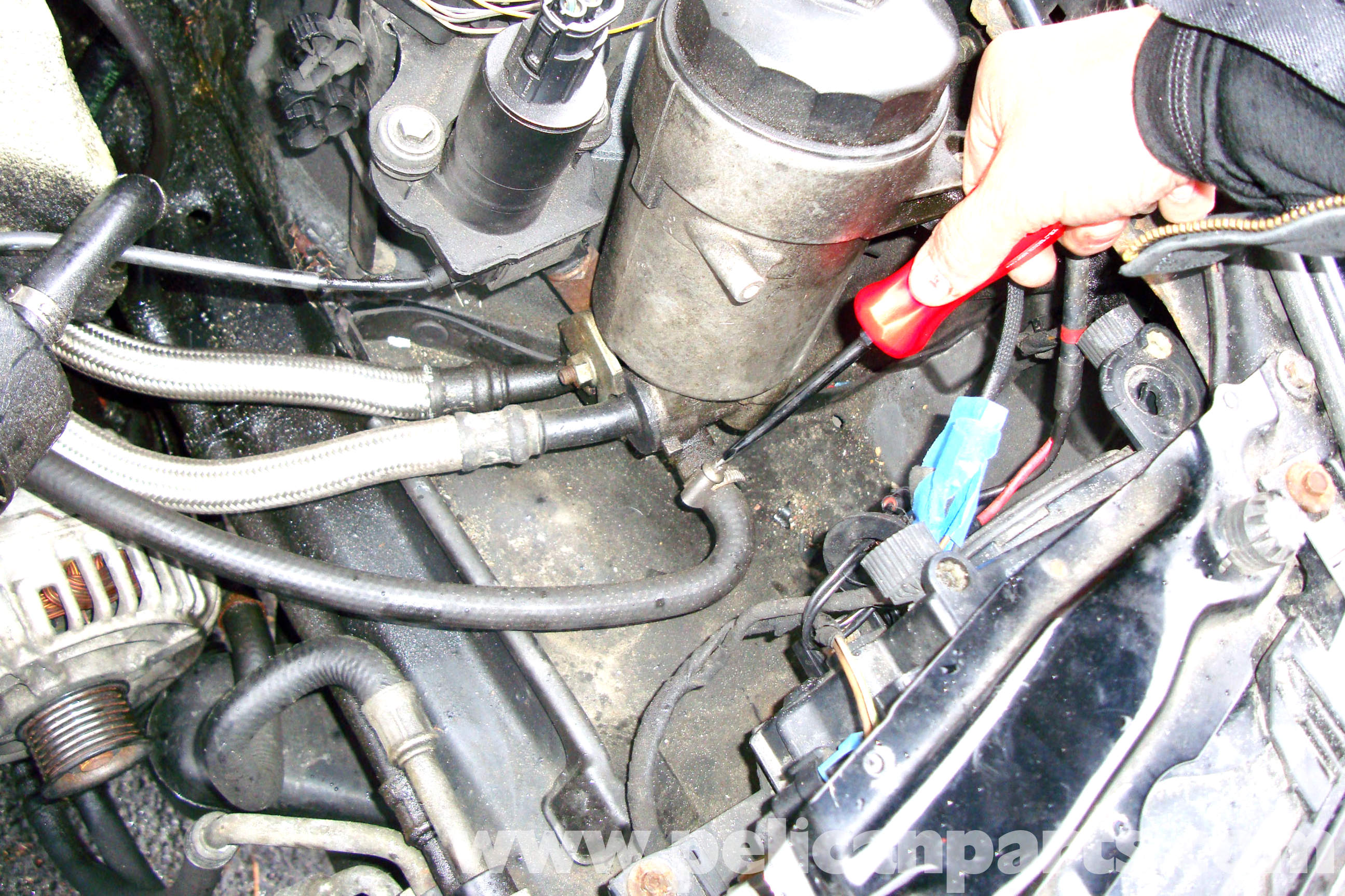 bmw e39 5 series oil filter housing and lines removal. Black Bedroom Furniture Sets. Home Design Ideas