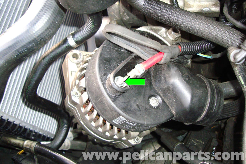 e alternator wiring diagram e image wiring diagram bmw e39 5 series alternator removal 1997 2003 525i 528i 530i on e39 alternator wiring diagram