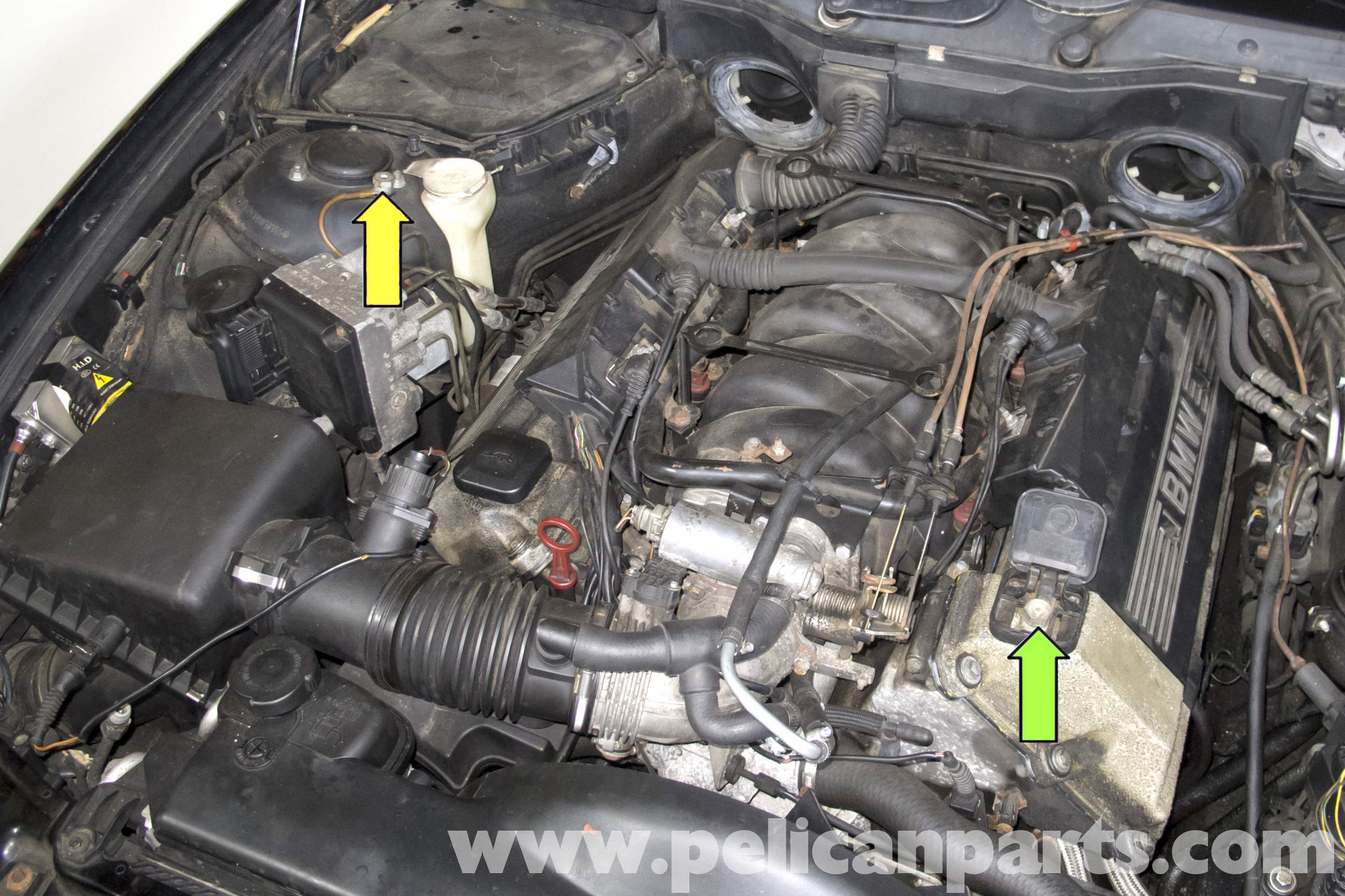 Bmw E39 5 Series Battery Replacement 1997 2003 525i 528i 530i
