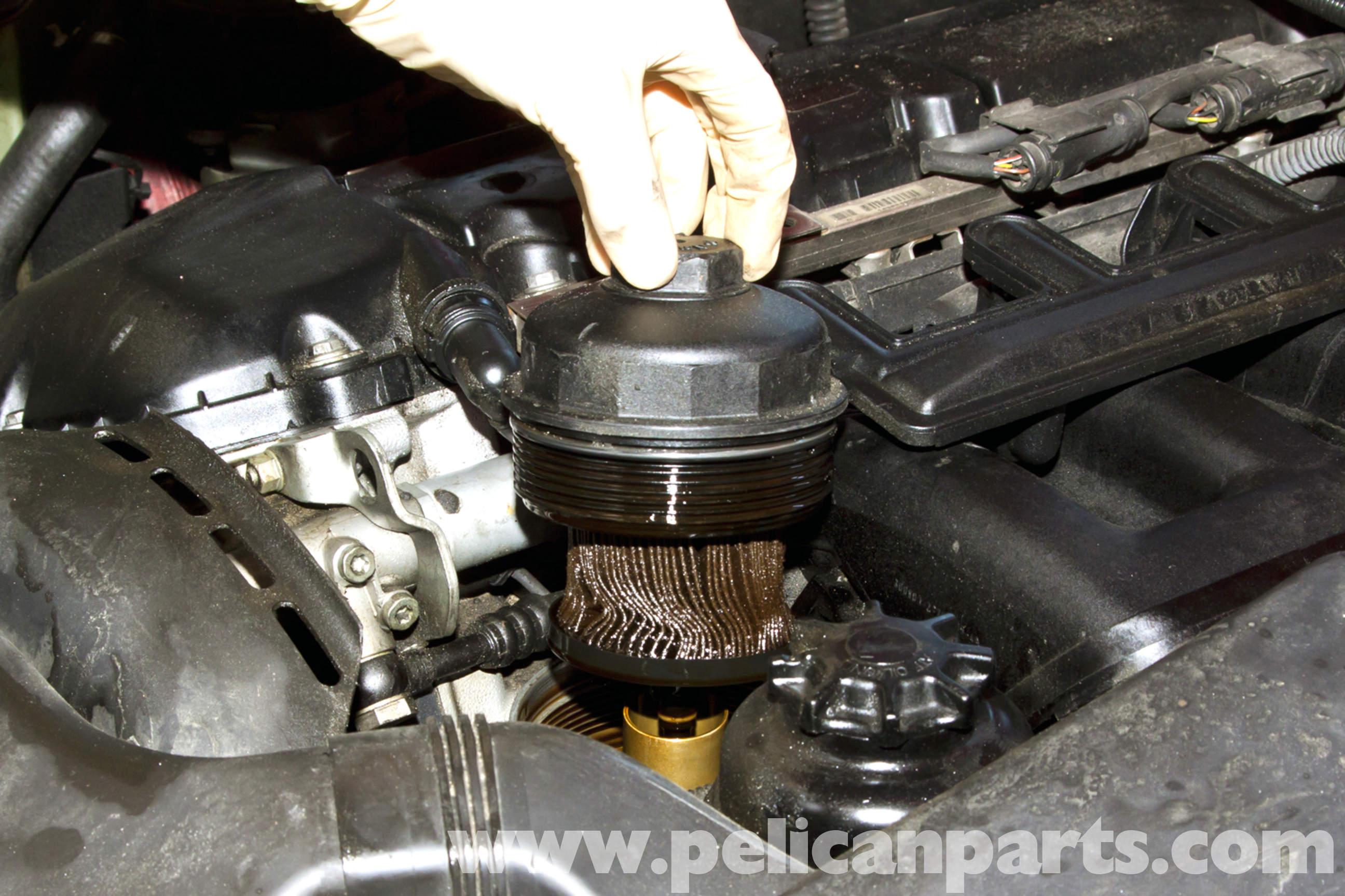 Bmw E39 5 Series Oil Change 1997 2003 525i 528i 530i 540i Engine Module Wiring Diagram Large Image Extra