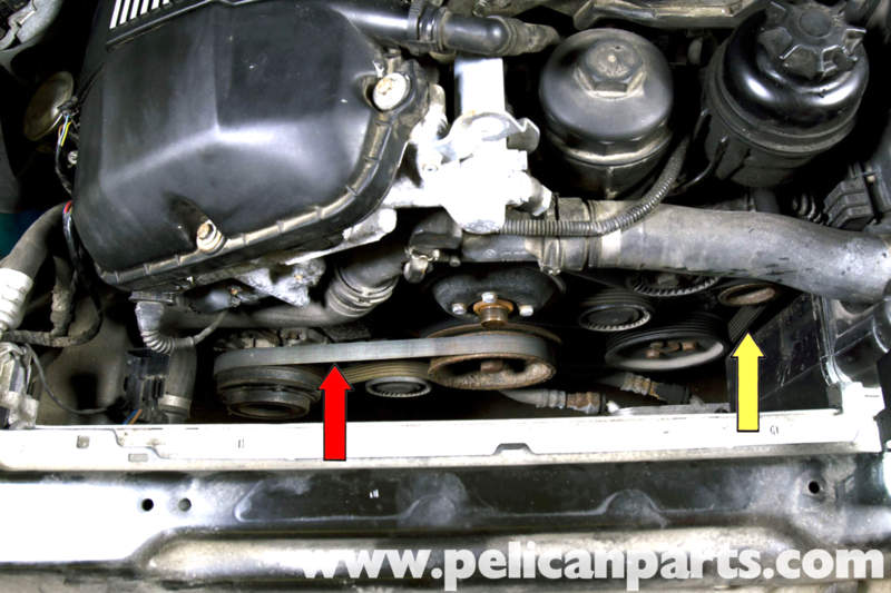 Bmw E39 5series Drive Belt Replacement 19972003 525i 528i 530i Rhpelicanparts: 1999 Bmw 528i Engine Diagram At Oscargp.net