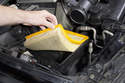 Remove the air filter from the housing.