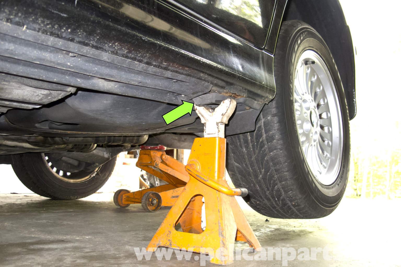 Bmw E39 5 Series Jacking Up Your Vehicle 1997 2003 525i 528i Kompresor Seri Denso Large Image