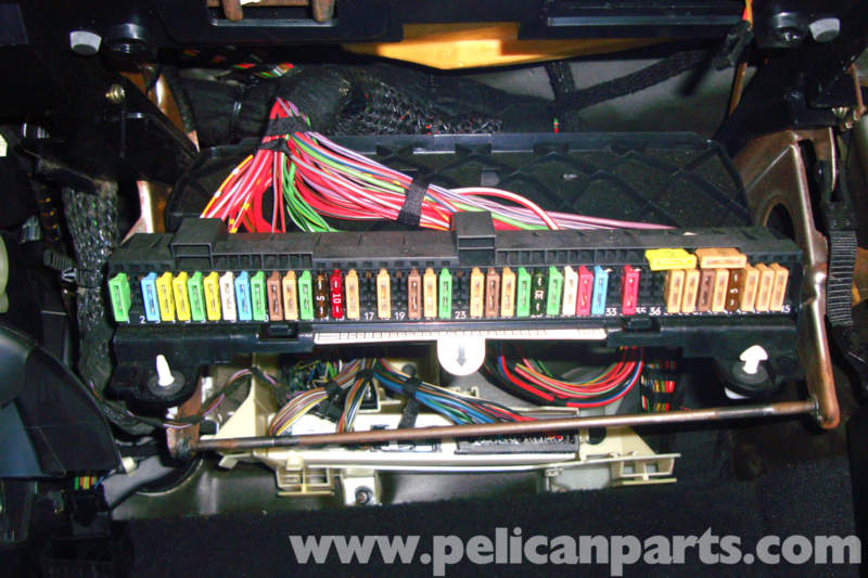 bmw e39 5-series blower motor testing | 1997-2003 525i ... bmw e39 fuse box under carpet 2003 bmw e39 fuse diagram #13