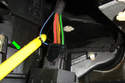 Attach the red lead of your meter to pin # 3 (the smallest wire), the black lead of your meter to ground and measure voltage.