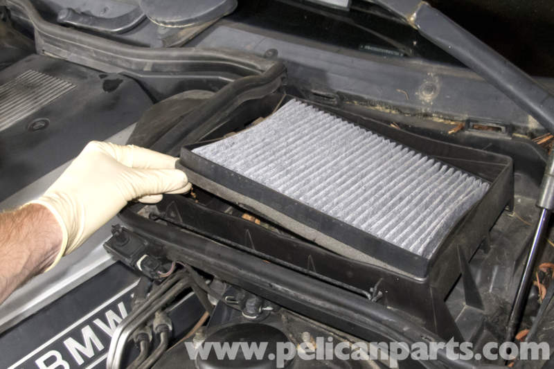 Bmw E39 5 Series Cabin Microfilter Replacement 1997 2003