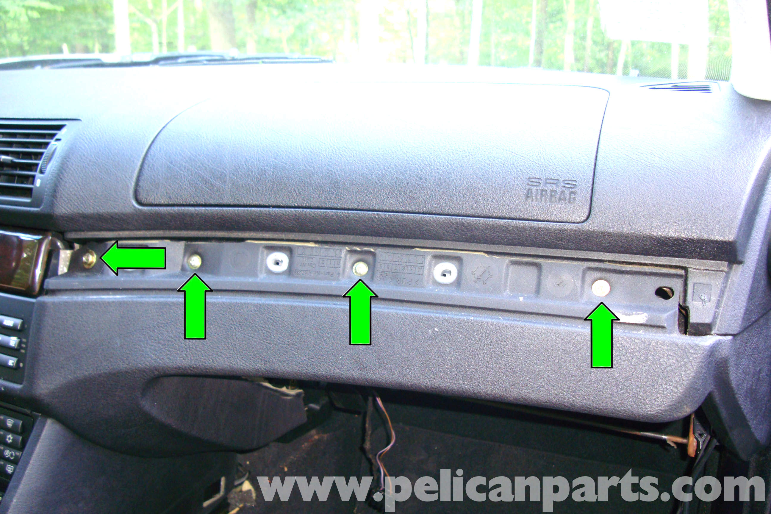 Bmw E39 Hidden Fuse Box Schematic Diagrams F10 5 Series Center Dash Panel Removal 1997 2003 525i 528i Diagram