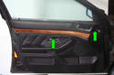 Here is the interior door panel we are going to remove.