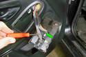 On the lever lock push down on the center tab (green arrows) and slide the lever over it all the way approximately 90ÃÆ'ÂÆ'â€ÂÃ...¡ÃƒƒÃ†''Ã'Ã'Ã'°.