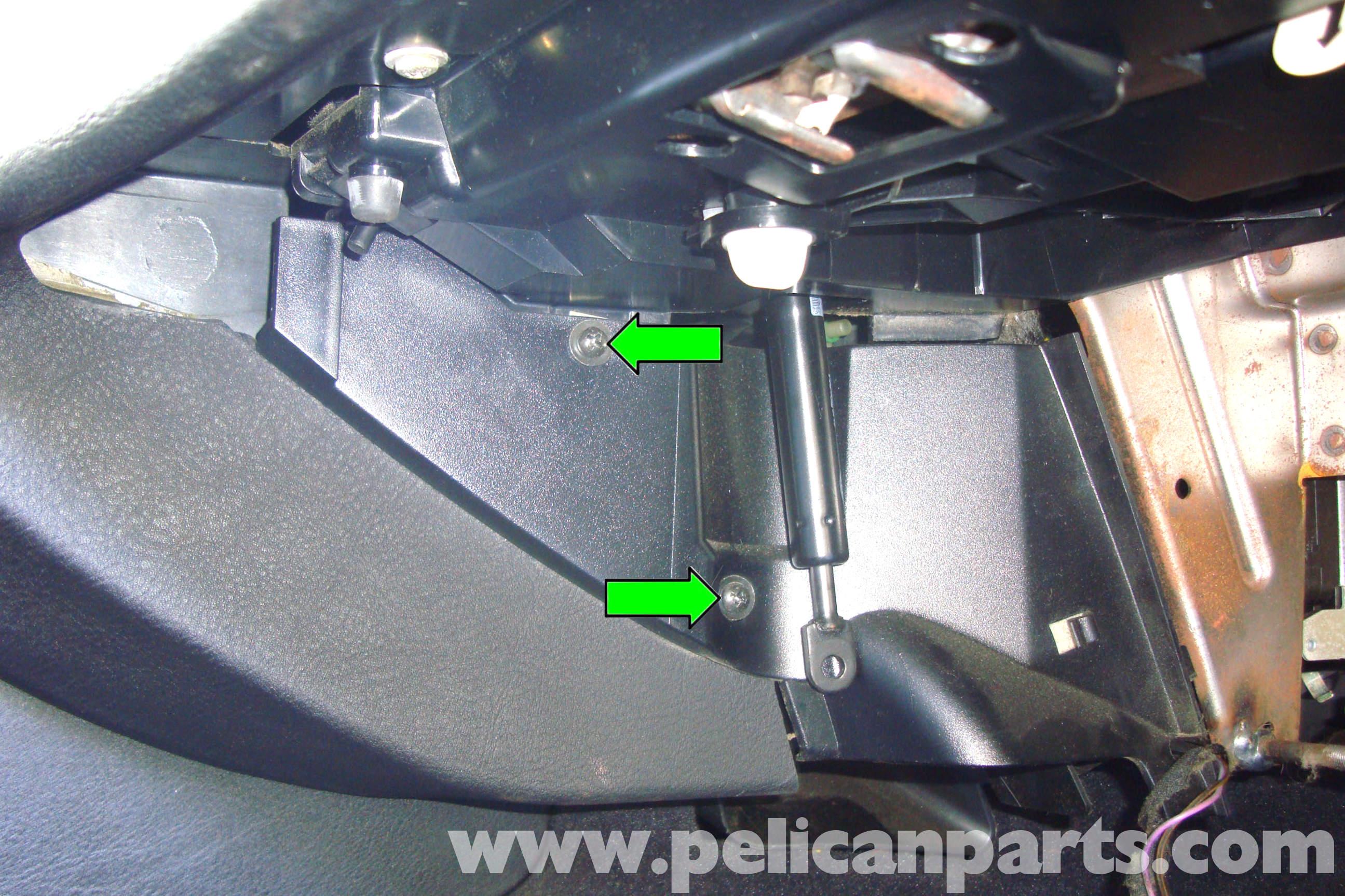 Bmw E39 Fuse Box Removal Schematics Diagram E34 530i 5 Series Glove 1997 2003 525i 528i