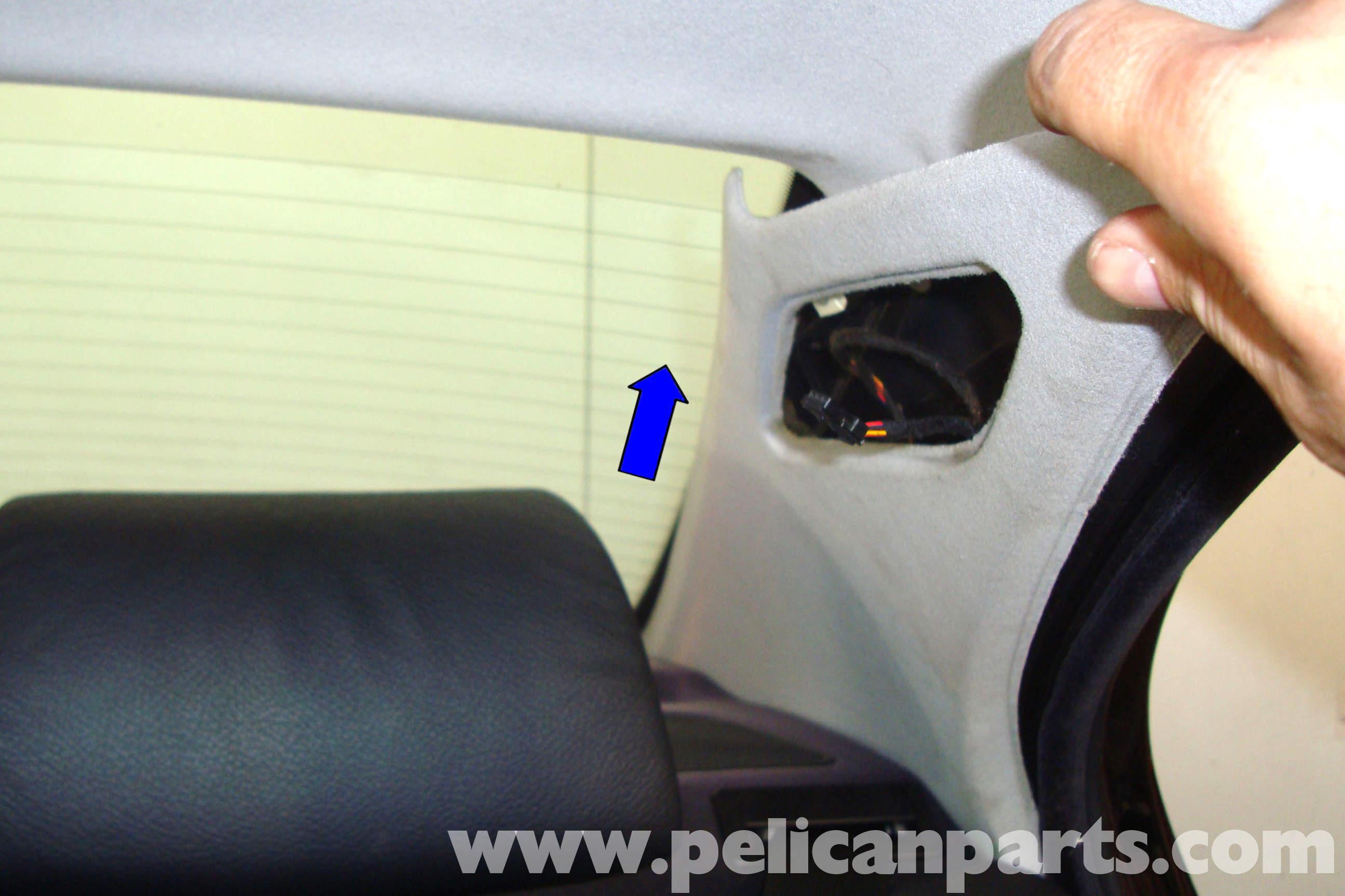 e39 seat cover removal