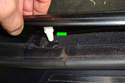 What you are doing that you canÂ't see is releasing these white plastic clips (green arrow) from holes in the car rocker panel.