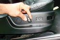 Pull off the seat back switch knob by pulling it away from the switch.