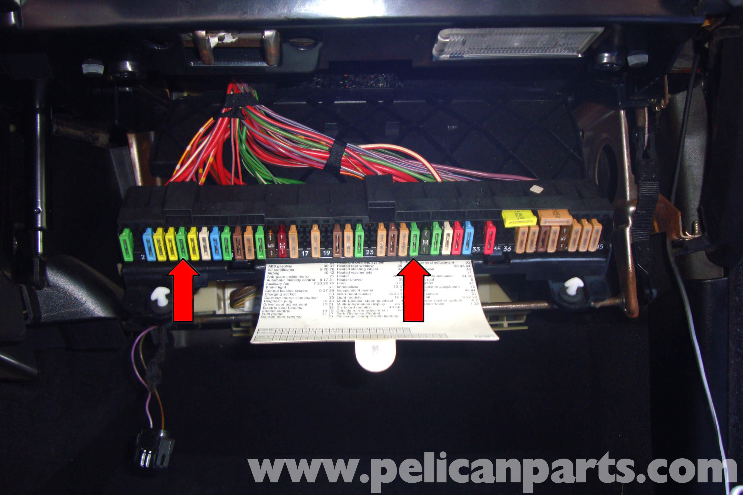 02 Bmw 330ci Fuse Box Diy Enthusiasts Wiring Diagrams 2002 330xi Diagram E39 5 Series Power Window Testing 1997 2003 525i 528i 530i 540i Pelican Parts Convertible Posotive Wire