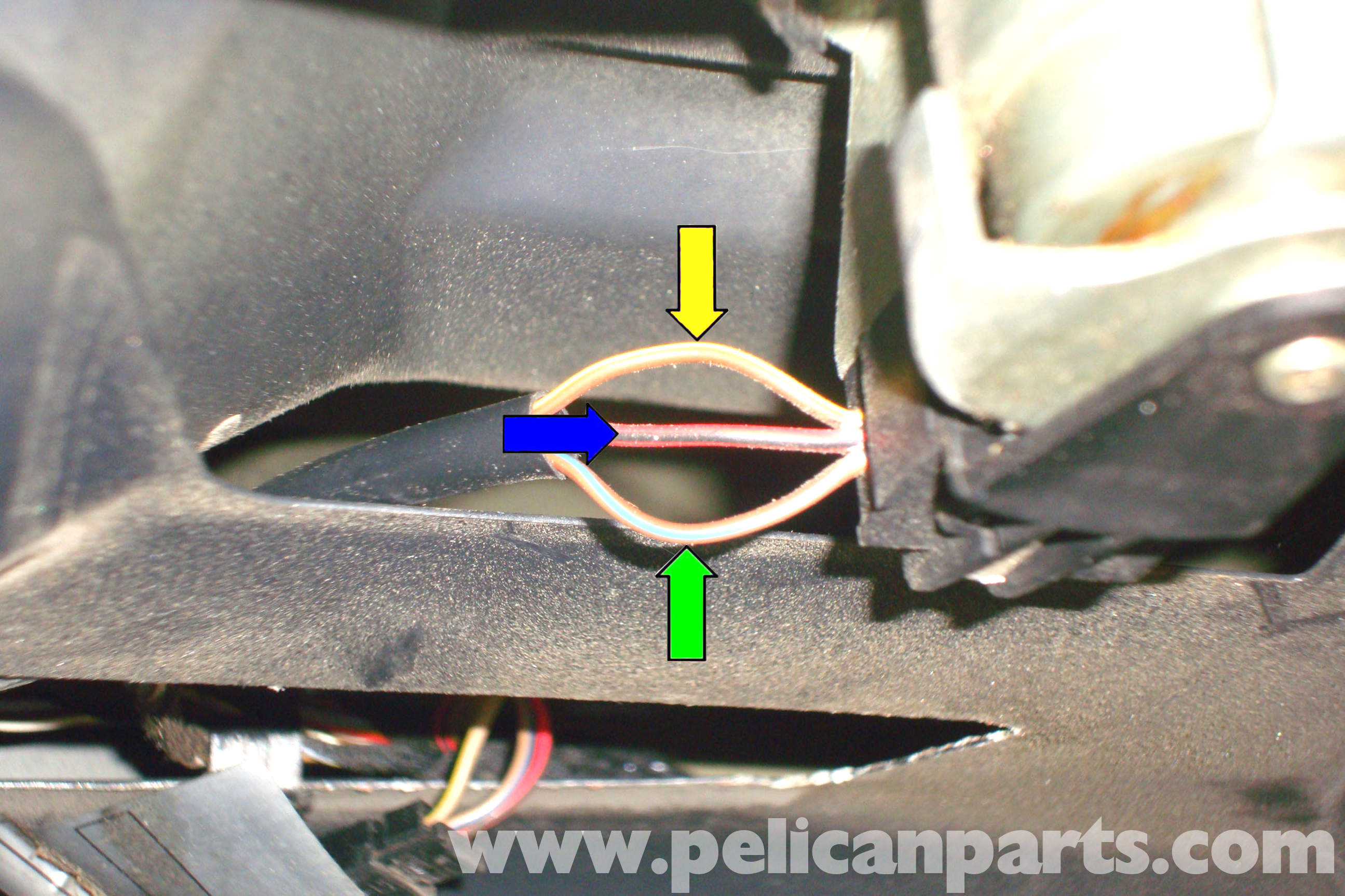 bmw e39 5 series trunk latch testing and replacement 1997 2003 rh pelicanparts com BMW E39 Parts Diagram BMW Radio Wiring Diagram
