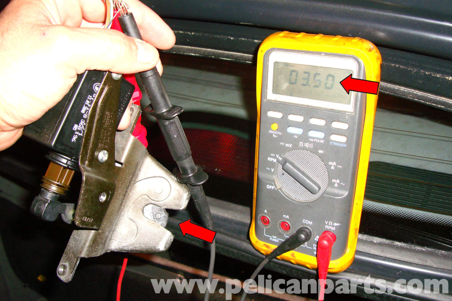 BMW    E39 5Series    Trunk       Latch    Testing and Replacement
