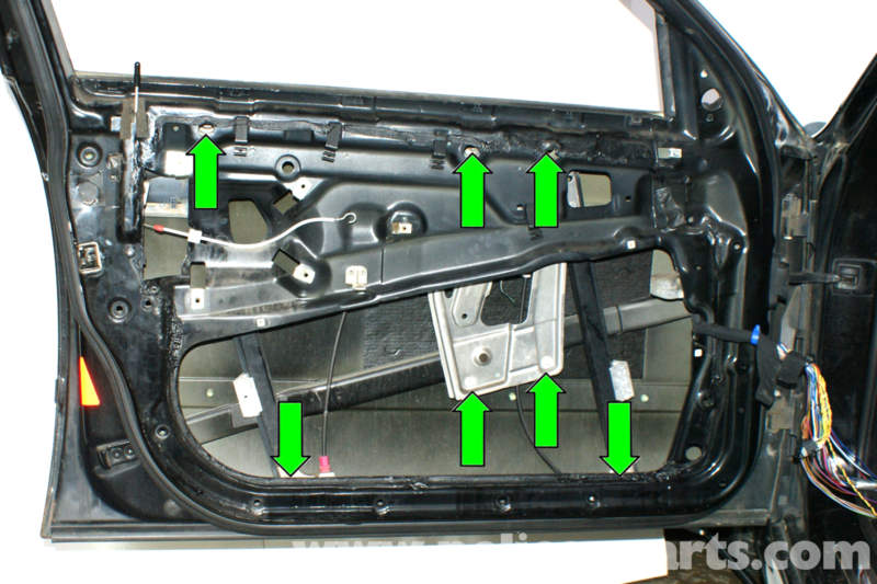 Bmw E39 5 Series Front Window Regulator Replacement 1997