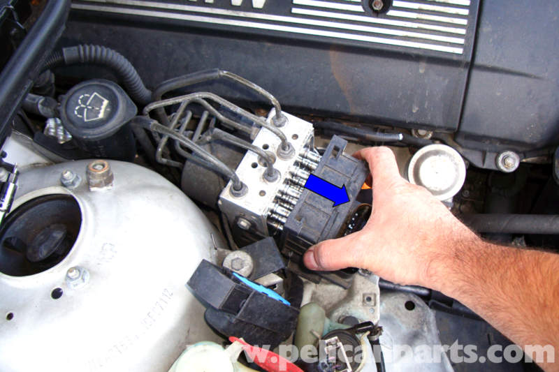 bmw   series abs asc module replacement