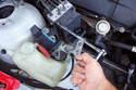 Remove the six T20 Torx module fasteners.