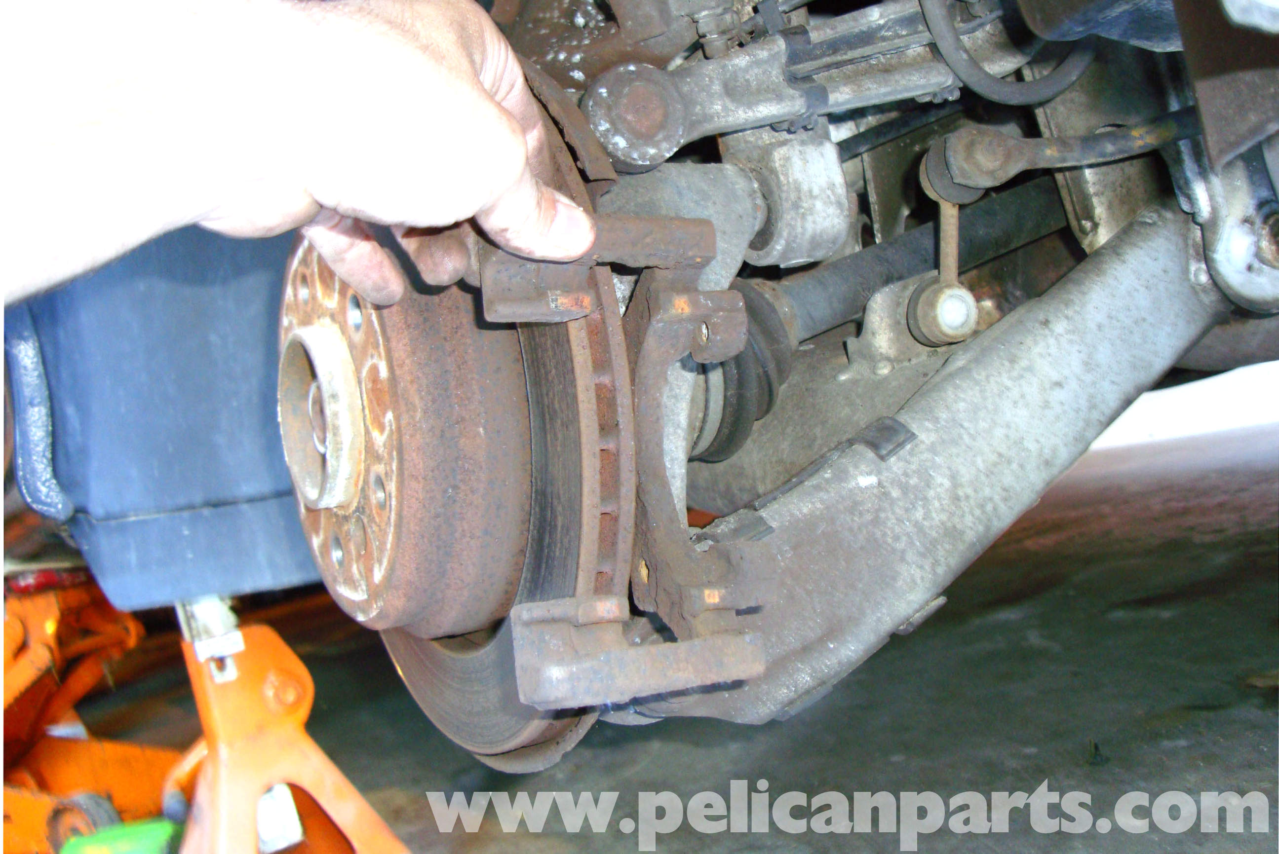 how to clean rust off brake rotors