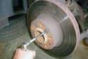 Remove the 5mm Allen head fastener.
