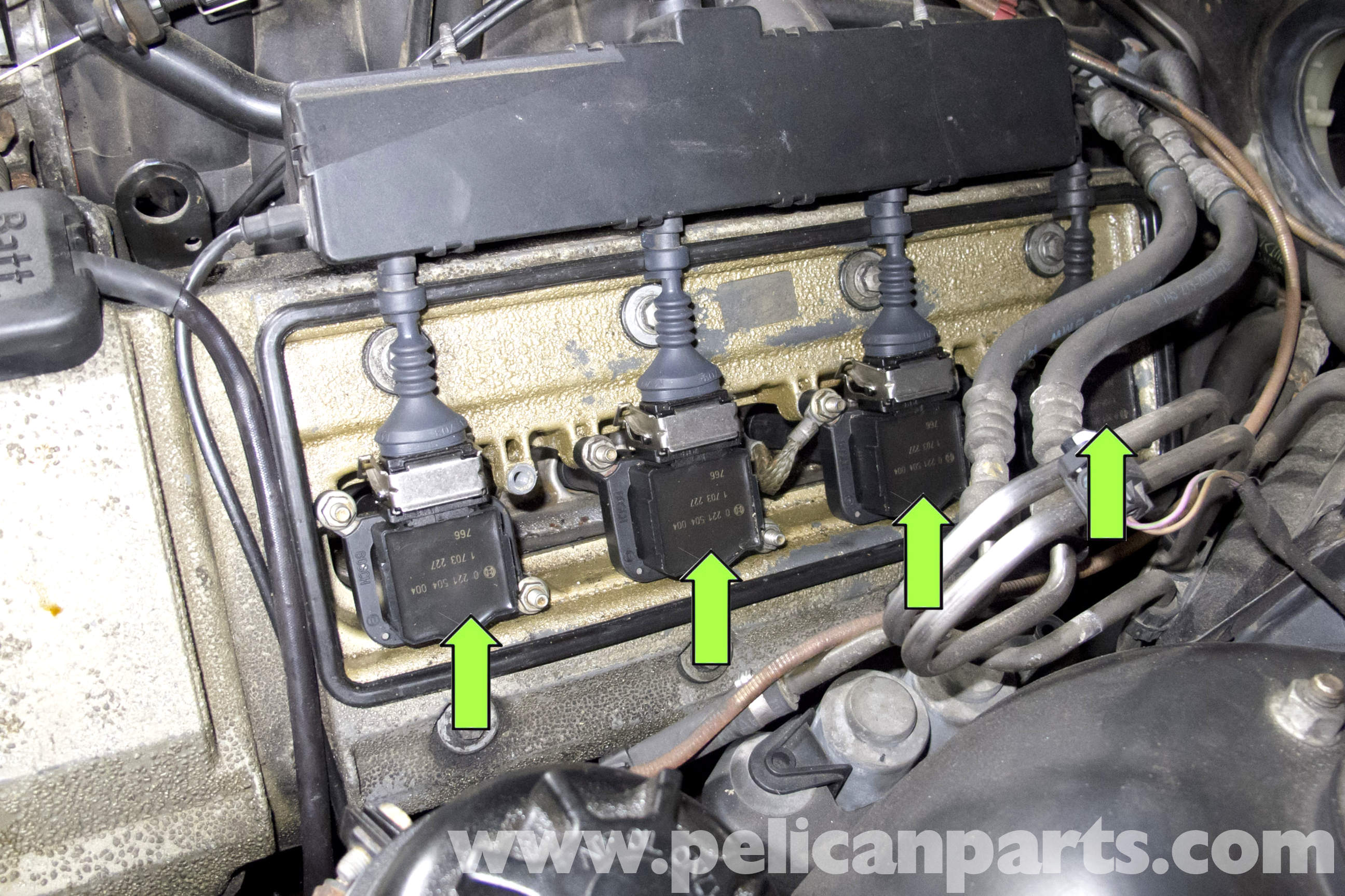 Bmw E39 5 Series Spark Plug Coil Replacement 1997 2003