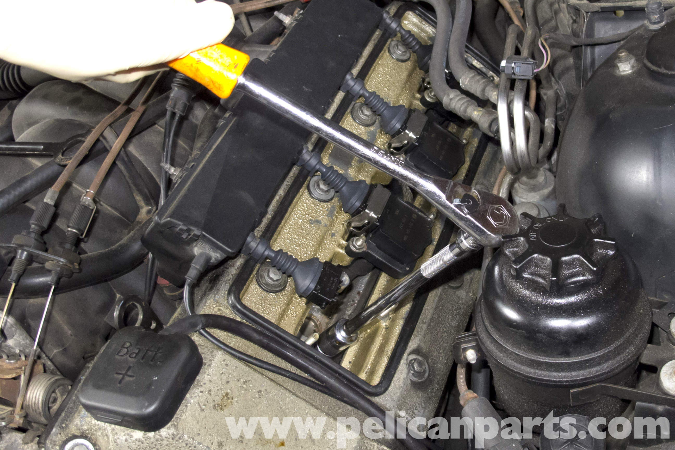 pic10 bmw e39 5 series spark plug coil replacement 1997 2003 525i  at fashall.co