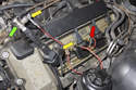 You can also use a spark test to test the spark out put of your ignition coil.
