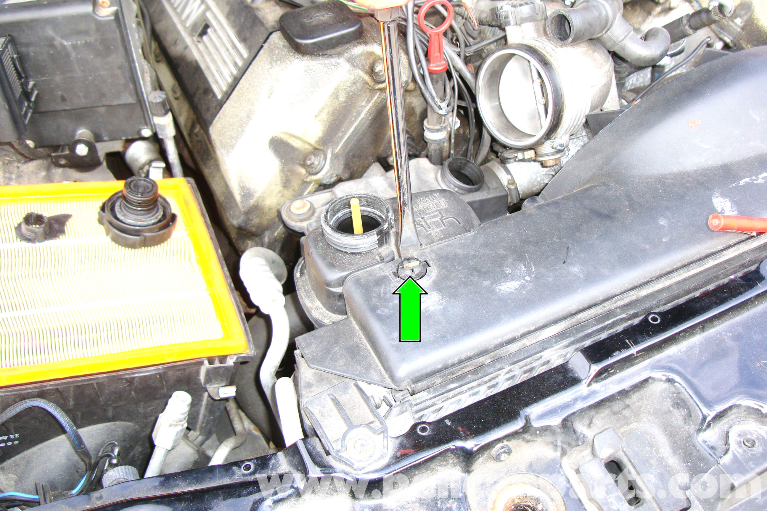 BMW E39 5 Series Cooling System Bleeding and Filling