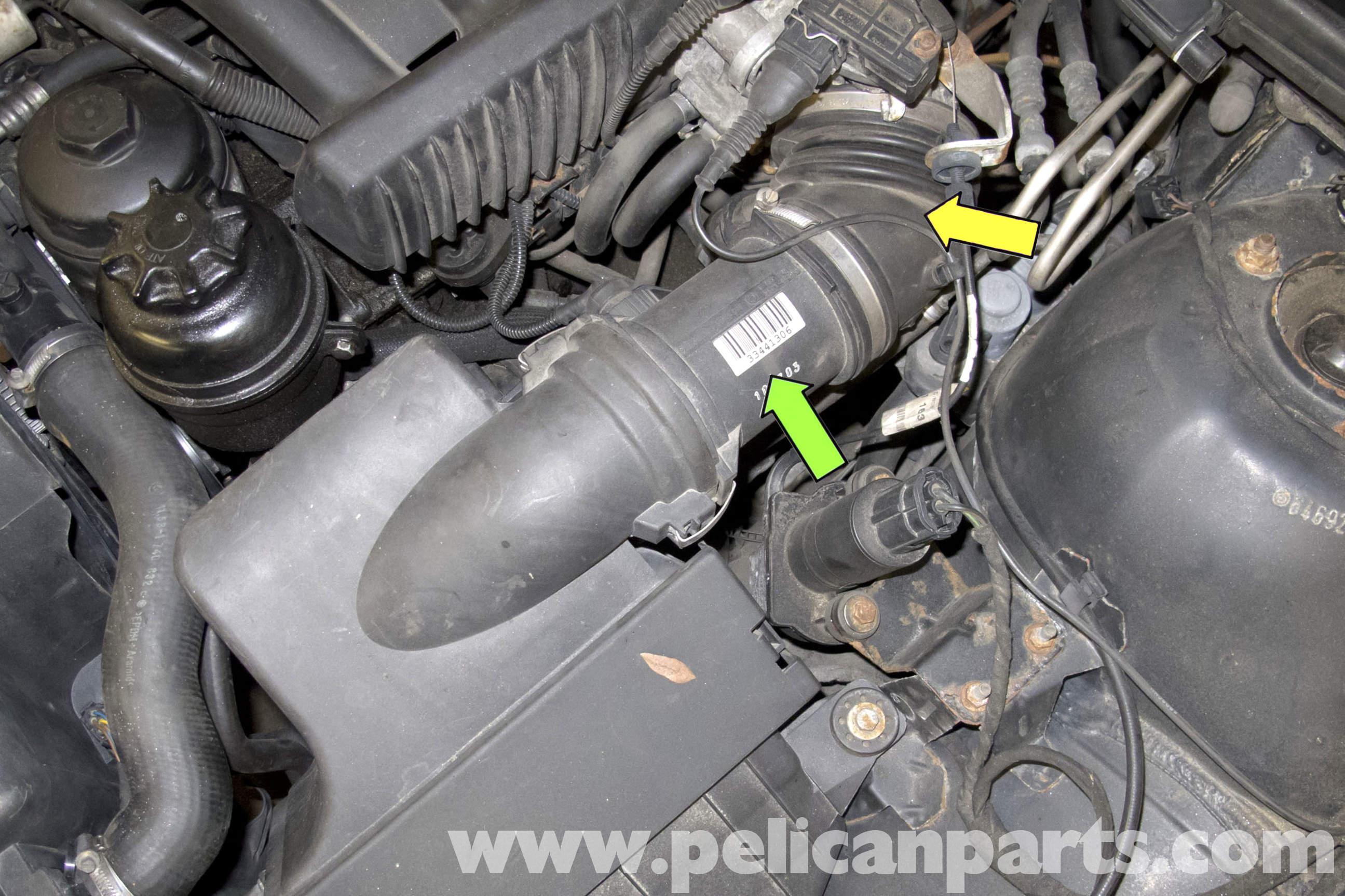 BMW E39 5-Series Mass Air Flow Sensor Replacement | 1997