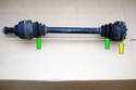 Here is a complete axle shaft assembly.