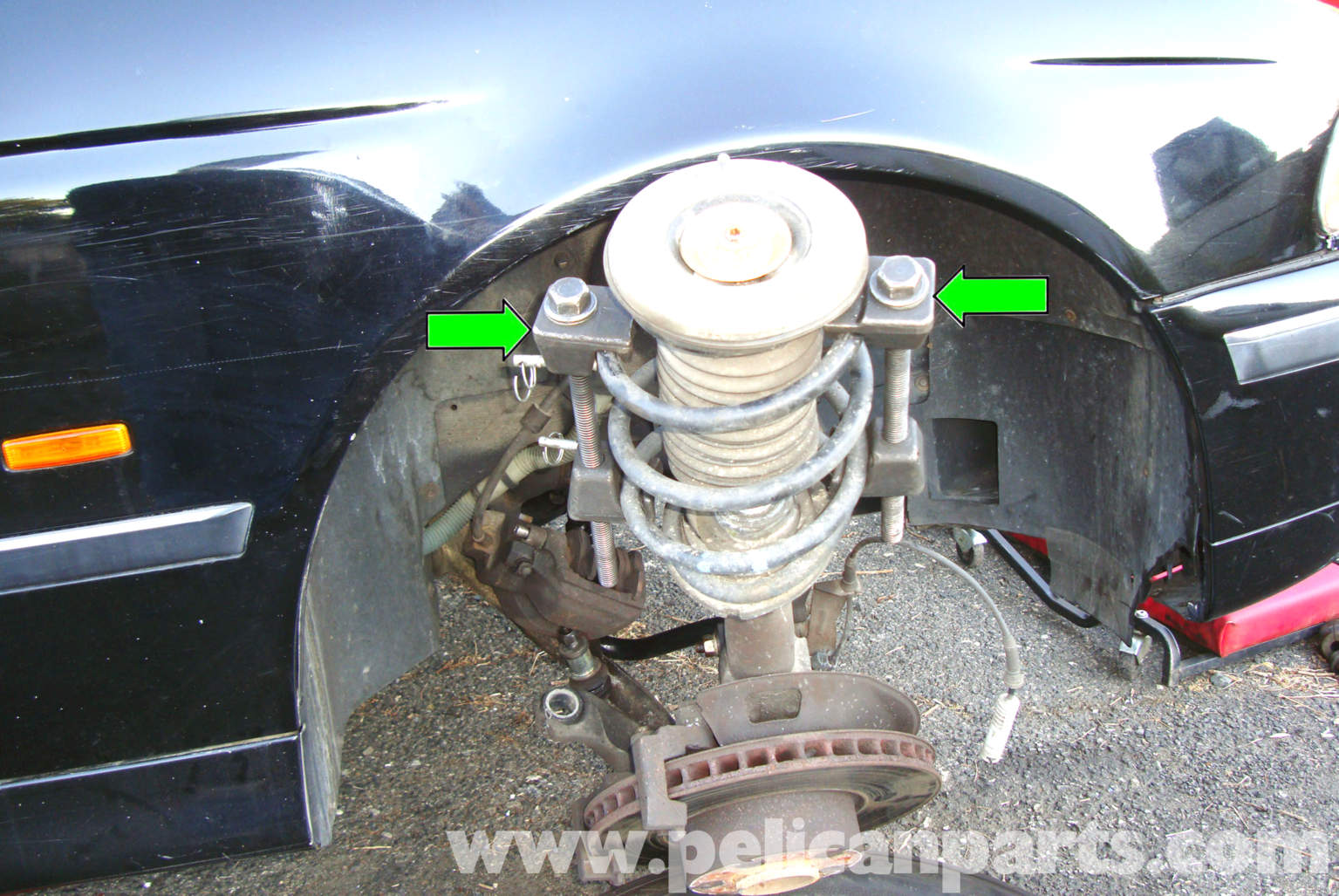 Bmw E39 5 Series Front Strut Replacement 1997 2003 525i