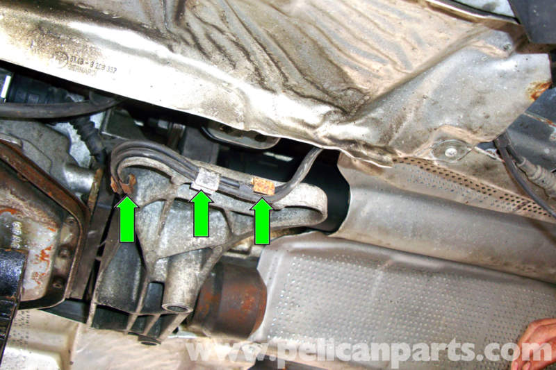 bmw e39 5 series flex disc guibo replacement 1997 2003 525i working at the left side of the cross member it dropped down slightly unclip
