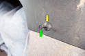 Here is a close upPicture of a mounting clip.