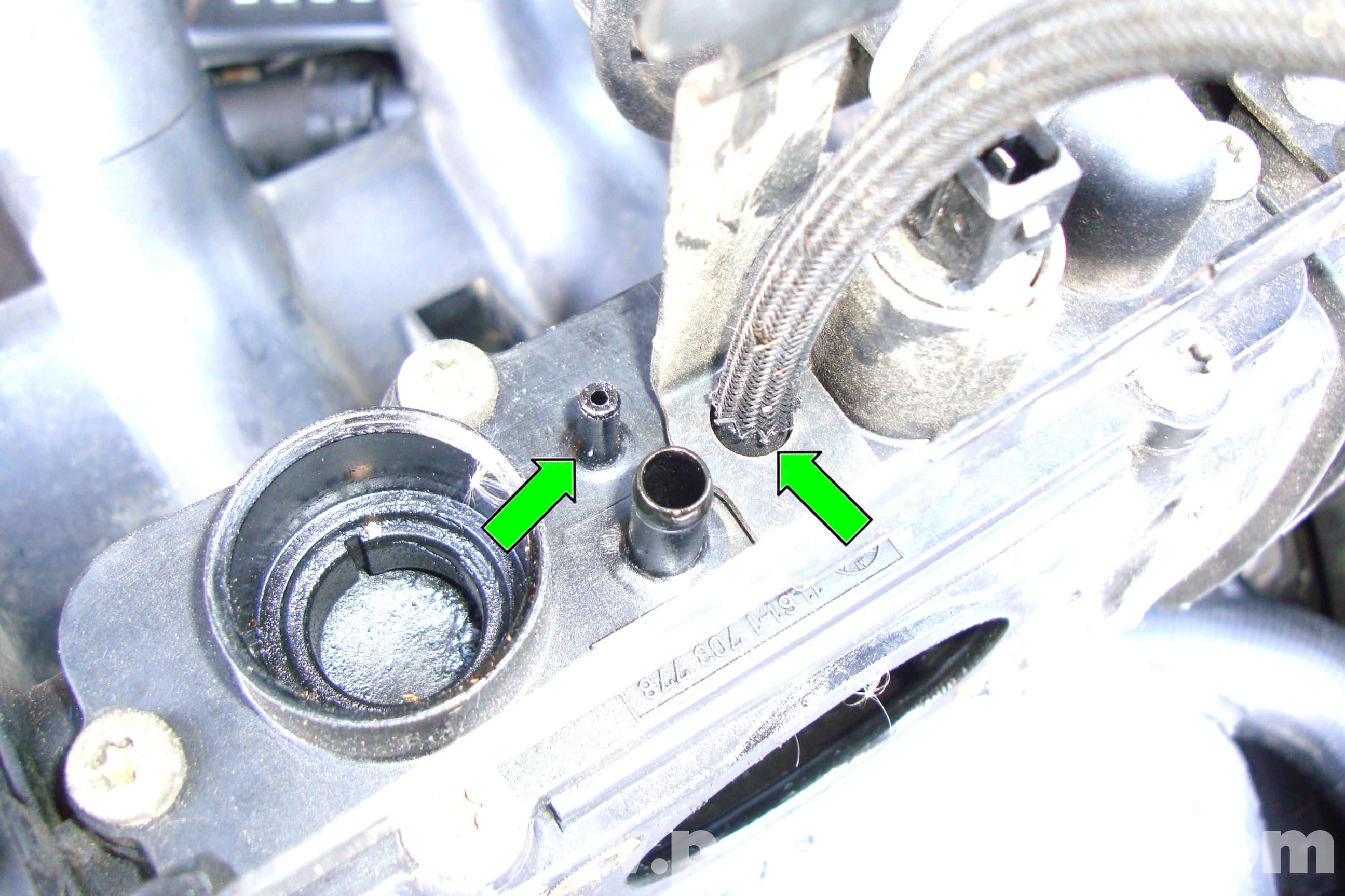 BMW E39 5-Series Intake Manifold Removal