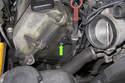 Next, remove the intake camshaft sensor 5mm Allen fastener.
