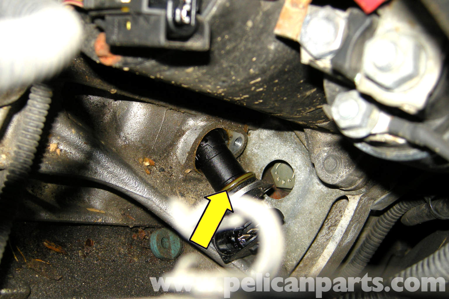 Bmw E39 5 Series Crankshaft Sensor Replacement 1997 2003