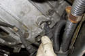 Once Allen bolt is removed, pull crankshaft sensor out of engine block.