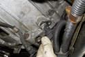 Once Allen bolt is removed, pull crankshaft sensor out of engine block.