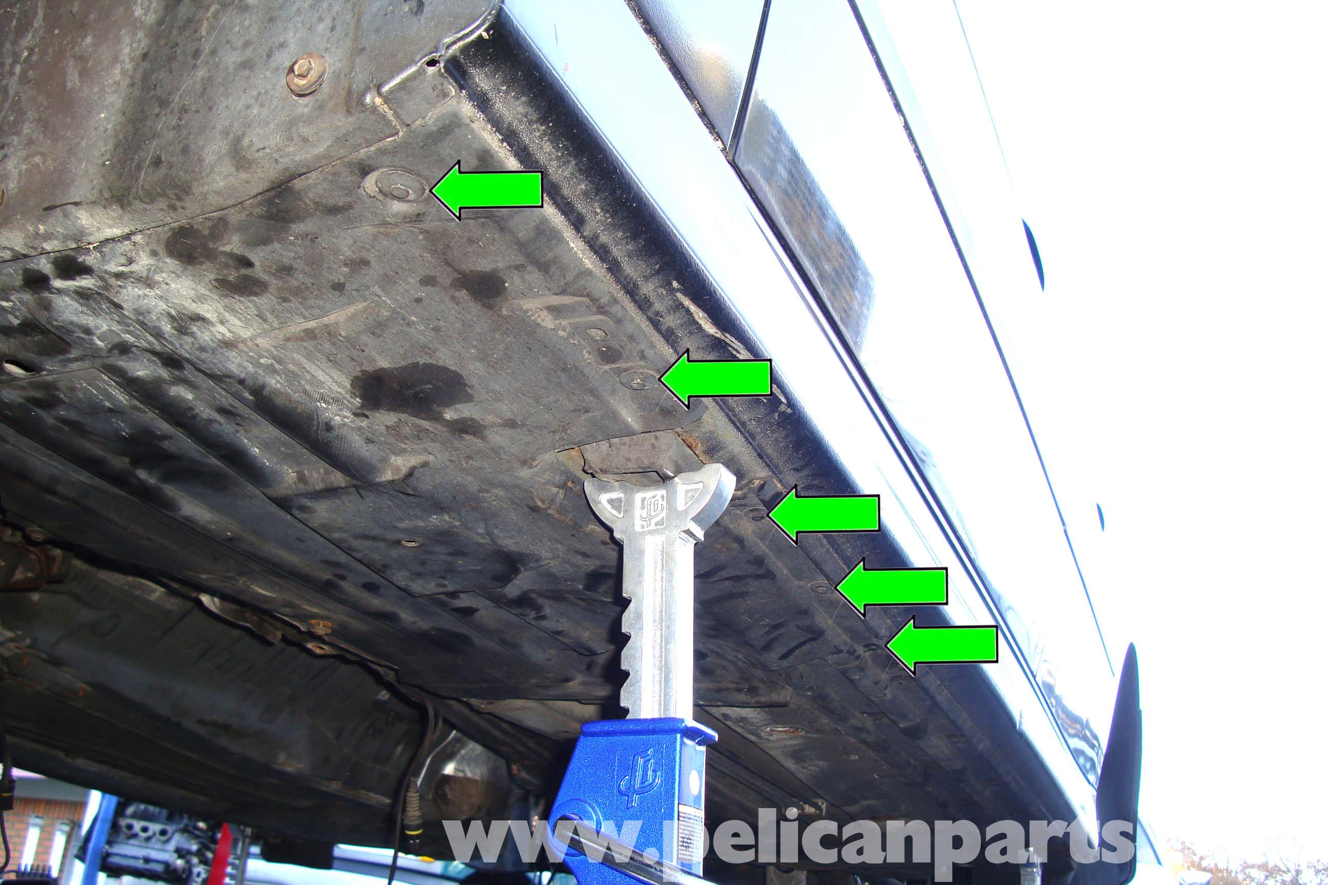 bmw e39 5-series fuel filter replacement | 1997-2003 525i, 528i, 530i, 540i  | pelican parts diy maintenance article  pelican parts