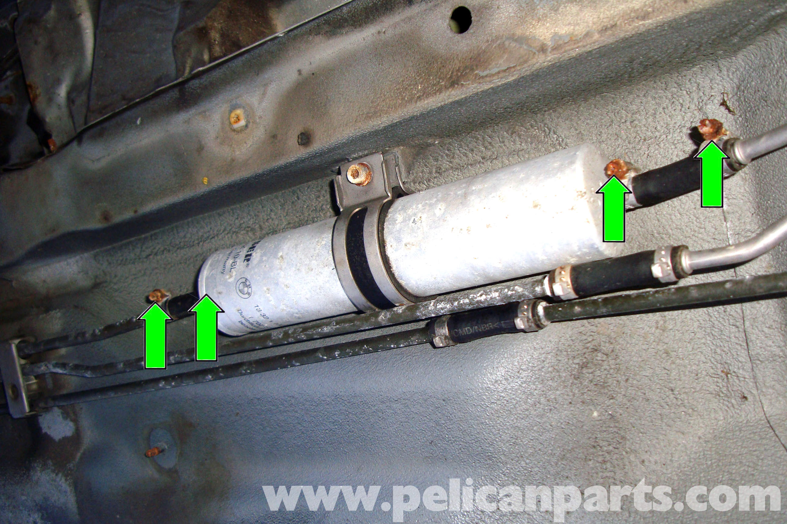 bmw e39 5-series fuel filter replacement | 1997-2003 525i ... 2007 honda accord fuel filter location