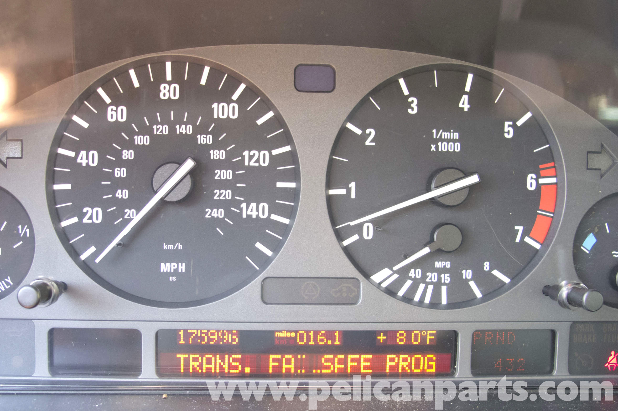 BMW E39 5-Series Transmission Fail Safe | 1997-2003 525i