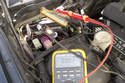 Then I check that the trans ECU is getting good ground supply.