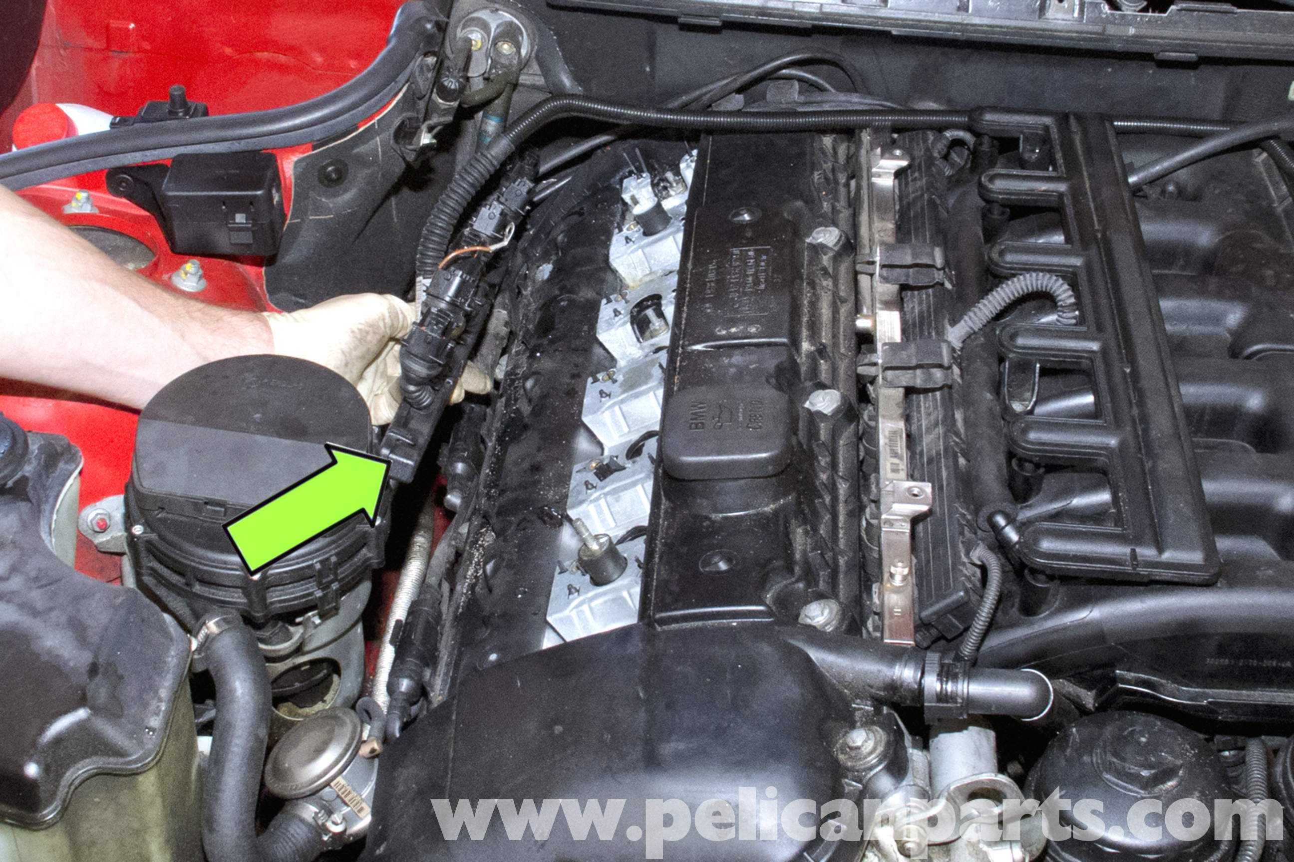 pic02 bmw e39 5 series valve cover gasket removal 1997 2003 525i, 528i  at readyjetset.co