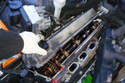 8-Cylinder Engine - Lift the right side engine valve cover off of the cylinder head.