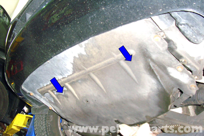 Splash Guard Car >> BMW E39 5-Series Engine Splash Shield Removal | 1997-2003 ...