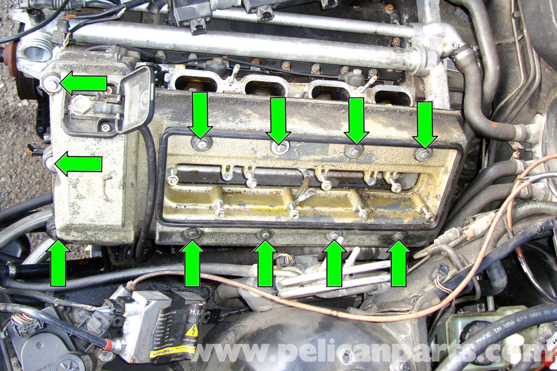 BMW E39 5-Series Cylinder Header Gasket Removal | 1997-2003 525i ...