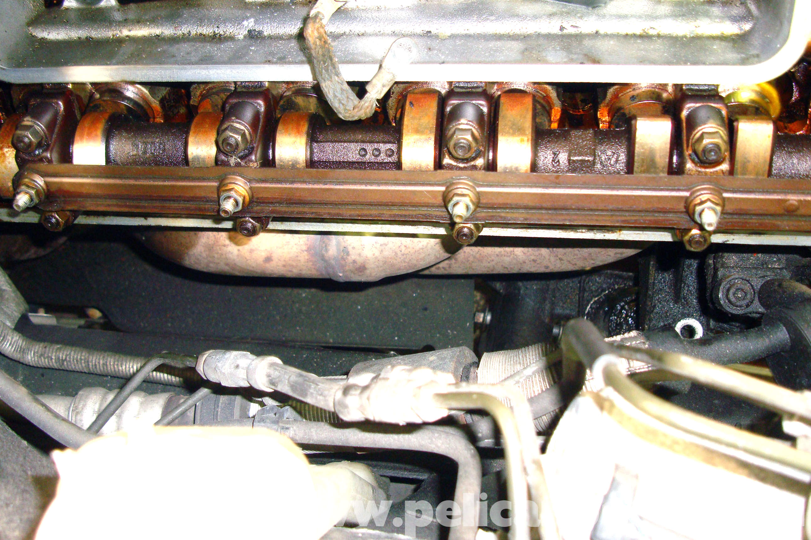 BMW E39 5-Series Exhaust Manifold Removal
