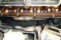If you are removing the right side manifold the layout of the manifolds are different.